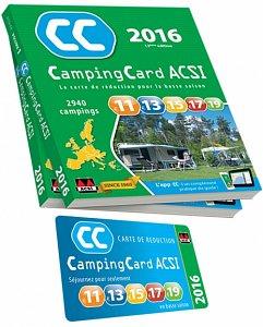 Acsi Karte.Karte Acsi 2016 Bantam Camping Wohnwagen