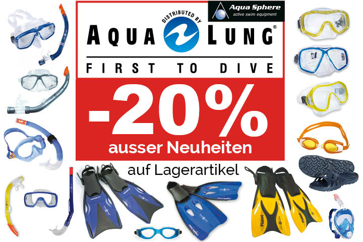 Déstockage Aqualung